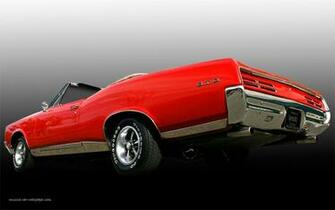 1967 Pontiac GTO Wallpaper Muscle Car Wallpaper
