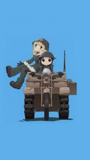 Phone wallpaper made from [Girls Last Tour] OP album [2560 x 1440