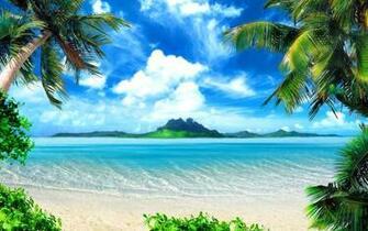 Tropical Beach HD Wallpapers