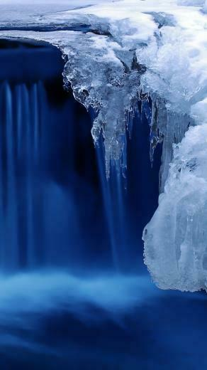 Frozen Cascade iPhone 5s Wallpaper Download iPhone Wallpapers iPad