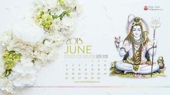 June 2018 Desktop Calendar Wallpaper HD Background Download