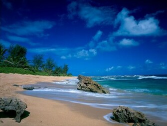 tropical beach wallpaper 040jpg