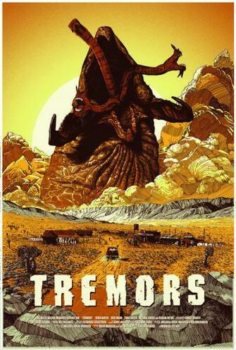 Tremors 1990 HD Wallpaper From Gallsourcecom Movie posters