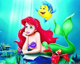 Walt Disney Wallpapers   The Little Mermaid   Walt Disney Characters