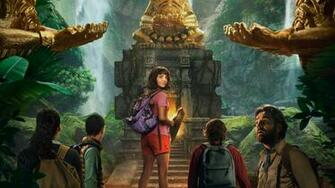 Dora And The Lost City Of Gold Poster HD Wallpaper 4K