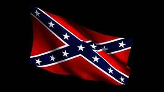 Confederate Flag waving 1920x1080p