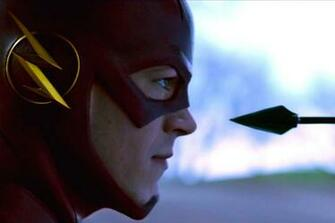 the flash tv show stills wallpaper arrow and the flash mashup oliver