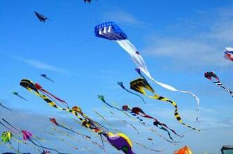 Kite flying bokeh flight fly summer hobby sport sky toy fun