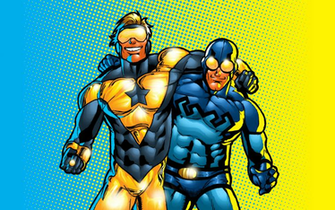 Booster Gold Wallpaper 13   1440 X 900 stmednet