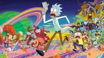 Top Rick And Morty Wallpaper Wallpapers