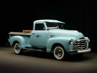 Chevrolet Wallpapers Chevrolet 3100 Pickup 1951 Wallpapers