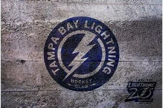 NHL Tampa Bay Lightning Shoulder Logo 2012 by Realyze