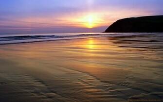 Beach Sunset Backgrounds For Desktop Wallpaper Best Hd