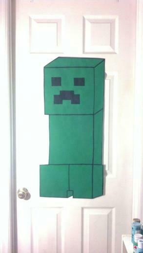 MINECRAFT BEDROOM MINECRAFT WALL DECOR kids room teenagers room or