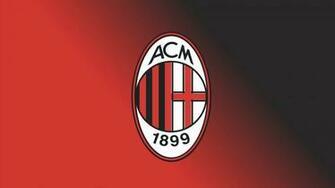 hd wallpaper AC Milan FC Football Logo FREE 4U WALLPAPERS
