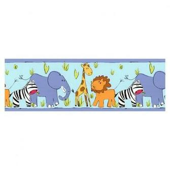Shop Norwall Animal Kingdom Wallpaper Border at Lowescom