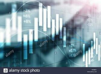 Stock exchange background Abstract finance wallpaper Blurred
