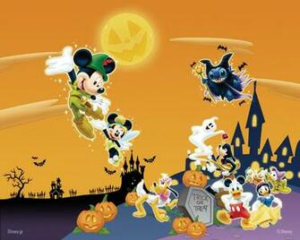 Happy Halloween 2012 wallpaper for Disneys fan