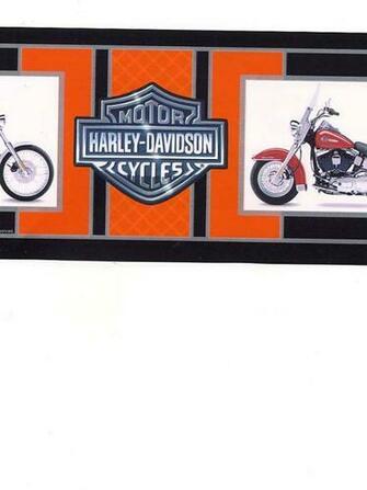 HARLEY DAVIDSON WALLPAPER BORDER   21B7   134B39966