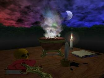 3D Screensaver shows you an ancient alchemy lab complete with mystic