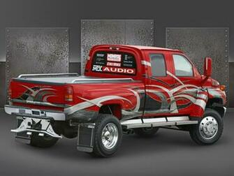2005 Chevrolet C4500 Medium Duty Truck at SEMA   Rear Angle