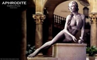 Aphrodite Goddess of Love Computer Wallpapers Desktop Backgrounds