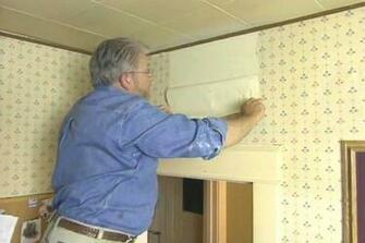 How to Remove Wallpaper Easily Ron Hazelton Online DIY Ideas