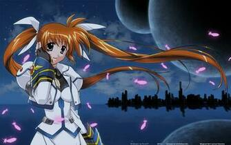 Magical Girl Lyrical Nanoha HD Wallpaper Background Image