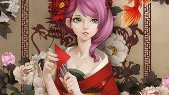 Geisha wallpaper   798353