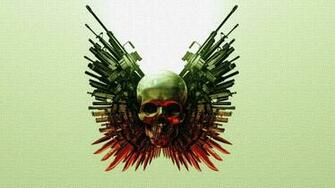 Skulls And Guns Wallpapers