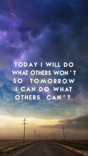 Be Linspired Motivational Quotes iPhone wallpapers