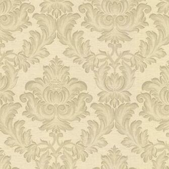 2601 20801 Gold Damask   Oldham   Brocade Wallpaper By Mirage