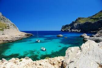 Images Majorca Mallorca Spain Sea Nature Cove Coast 2585x1730