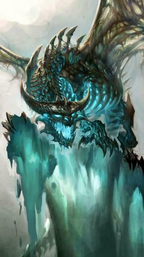 Dragon World of Warcraft   Best iPhone 5s wallpapers