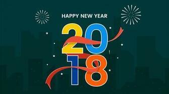 Happy New Year 2018 HD Wallpaper HD Wallpapers