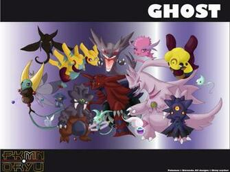 Pokemon Ghost Type Wallpaper Oryu wall ghost type by