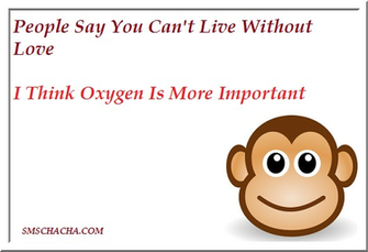 The Really Funny Jokes wallpaper with quotes regarding love and oxygen