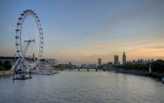London Eye High Definition Wallpaper