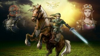 The Legend Of Zelda Twilight Princess Wallpaper by FioreRose on