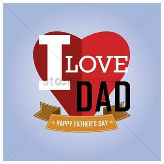 Happy fathers day wallpaper Vector Image   1585479 StockUnlimited