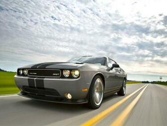 Silver car Dodge Challenger SRT8 392 2012 models HD wallpaper