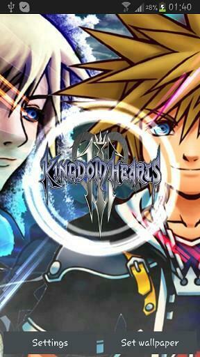 View bigger   Kingdom Hearts Live Wallpaper for Android screenshot