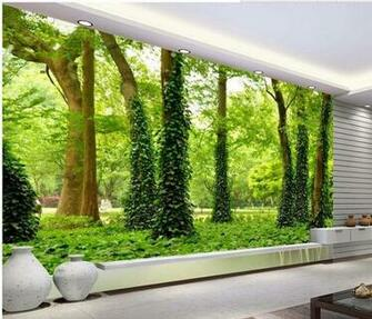 New large wallpaper Custom wallpaper HD forest landscape mural wall