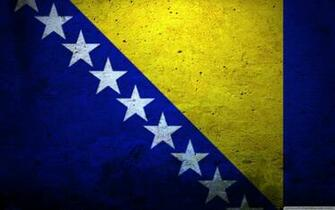 Grunge Flag Of Bosnia And Herzegovina HD desktop wallpaper Tarik