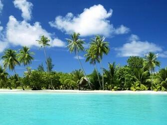 World Visits Tropical Island Beach Wallpaper Review