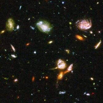 Hubble Deep Space Images Space Wallpaper