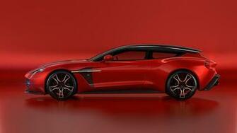 2018 Aston Martin Vanquish Zagato Shooting Brake 4K 2 Wallpaper