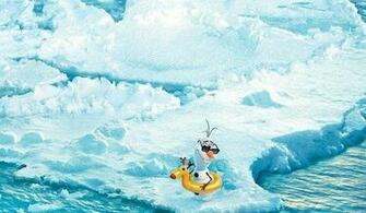 Frozen Disney Olaf Wallpaper Get ready to swim with olaf