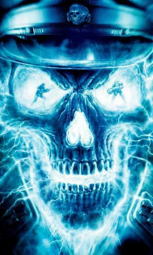 Wallpapers Backgrounds   Ghost Skull WallPapers