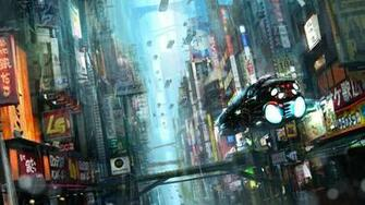 BLADE RUNNER drama sci Fi thriller action city spaceship gs wallpaper